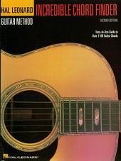 Incredible Chord Finder - 9 inch. x 12 inch. Edition: Hal Leonard Guitar Method Supplement