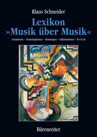 Lexikon  Musik   ber Musik  PDF