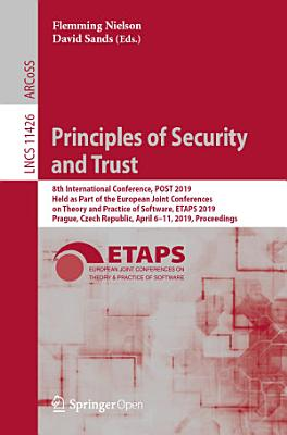 Principles of Security and Trust PDF