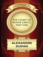 The Count of Monte Cristo  Part One PDF
