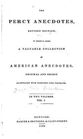 The Percy Anecdotes ...