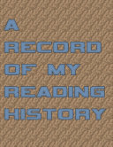 A Record Of My Reading History