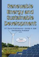 Renewable Energy and Sustainable Development