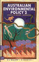 Australian Environmental Policy 2 PDF