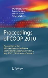 Proceedings of COOP 2010 PDF