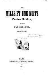 ('Alf lailah wa lailah.) Les mille et une nuits, Contes, Arabes, trad. par (Antoine) Galland, Ornes de gravoures