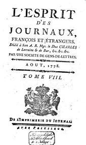 L'Esprit des journaux franc̜ais et étrangers: Volume54