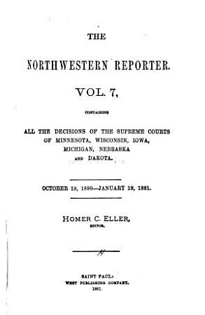 The Northwestern Reporter PDF