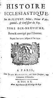 Histoire ecclésiastique [jusqu'en 1414]: Volume19