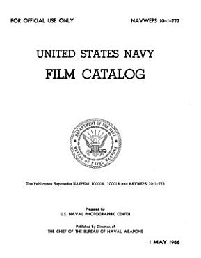 United States Navy Film Catalog PDF
