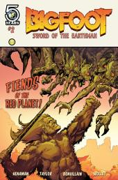 Bigfoot- Sword of the Earthman #2: Issue 3
