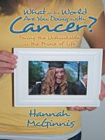 What in the World Are You Doing with Cancer  PDF