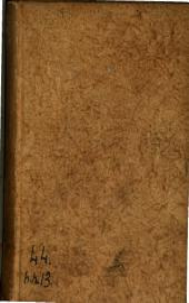 Chefs-d'oeuvre de Houdart de la Motte et de Guyot de Merville