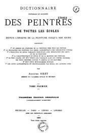 Dictionnaire historique et raisonné des peintures de toutes les écoles