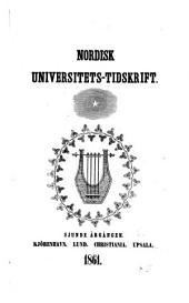 Nordisk universitets-tidskrift: Bind 7