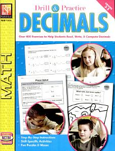 Drill   Practice  Decimals  GR 3 5  Book