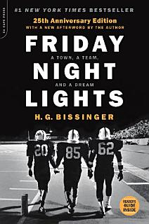 Friday Night Lights  25th Anniversary Edition Book