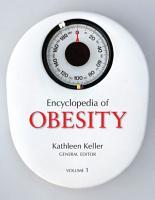 Encyclopedia of Obesity PDF