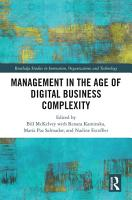 Management in the Age of Digital Business Complexity PDF