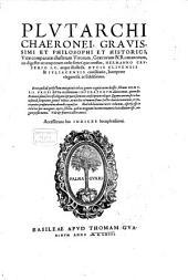 Graecorum Romanorumque illustrium vitae