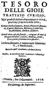Tesoro delle gioie: Trattato curioso
