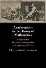 Anachronisms in the History of Mathematics