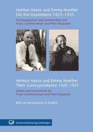 Helmut Hasse und Emmy Noether PDF