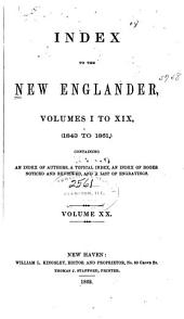 New Englander and Yale Review: Volumes 1-20