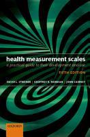 Health Measurement Scales PDF