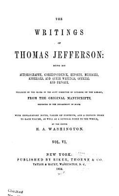 The Writings of Thomas Jefferson  Correspondence  contin PDF
