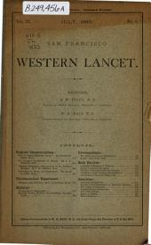 The Western Lancet: Volume 9, Issue 5; Volume 9, Issue 7