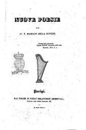 Nuove poesie del c. T. Mamiani della Rovere