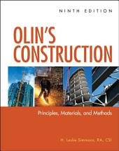 Olin's Construction: Principles, Materials, and Methods, Edition 9