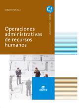 Operaciones administrativas de recursos humanos (Ed.2016)