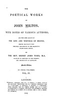 The Poetical Works of John Milton PDF