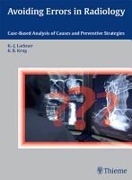 Avoiding Errors in Radiology PDF