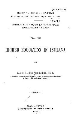 Higher Education in Indiana PDF