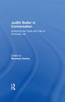 Judith Butler in Conversation PDF