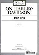 Cycle World on Harley-Davidson 1987-90