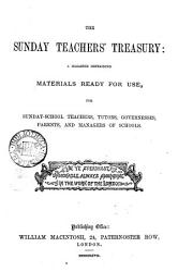 The Sunday Teachers Treasury Ed By W M Whittemore Book PDF