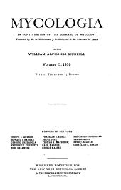 Mycologia: Volume 2