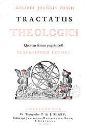 Gerardi Joan. Vossii opera in sex tomos divisa: Quorum series post praefationem exhibetur, Volume 3