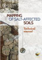 Mapping of salt affected soils     Technical manual PDF