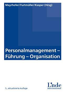 Personalmanagement   F  hrung   Organisation PDF