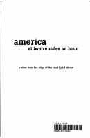 America at Twelve Miles an Hour PDF