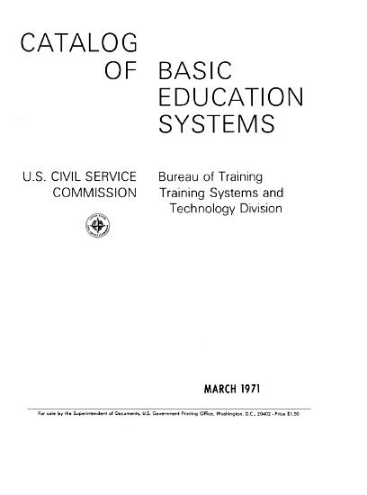 Catalog of Basic Education Systems PDF