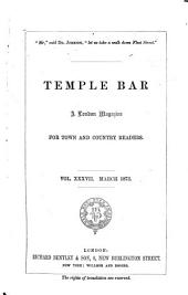 Temple Bar: Volume 37