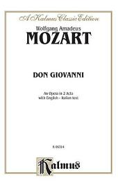 Don Giovanni: Vocal (Opera) Score