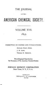 Journal of the American Chemical Society: Volume 17, Part 2