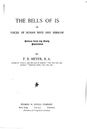The Bells of Is  Or  Voices of Human Need and Sorrow